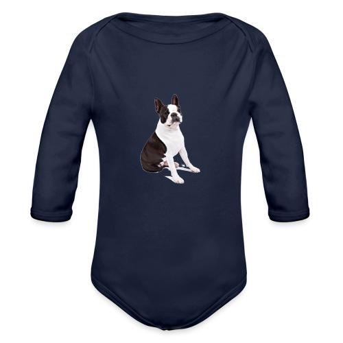 Boston-Terrier-Nice-Pic - Body ecologico per neonato a manica lunga