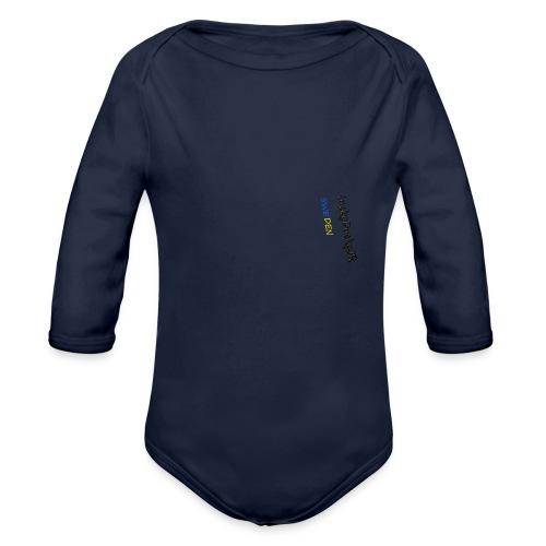 luckyDuckyJR SWEDEN hoddie - Organic Longsleeve Baby Bodysuit