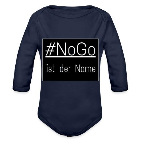 #NoGo - Baby Bio-Langarm-Body
