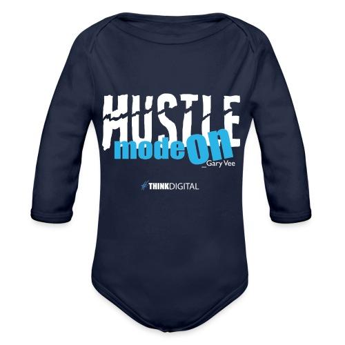 HUSTLE mode on. Gary Vee - Body ecologico per neonato a manica lunga