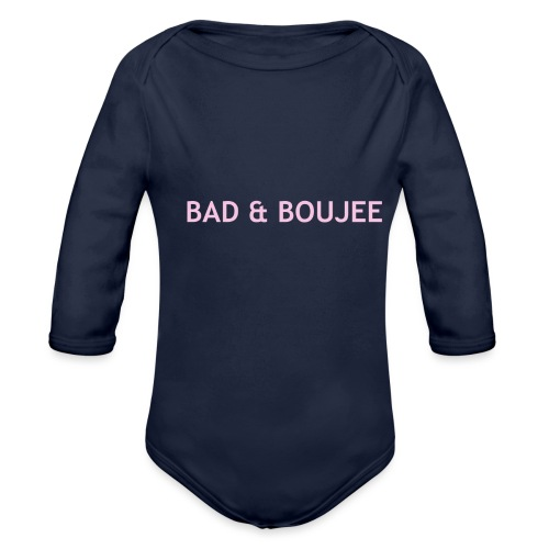 BAD & BOUJEE - Organic Longsleeve Baby Bodysuit