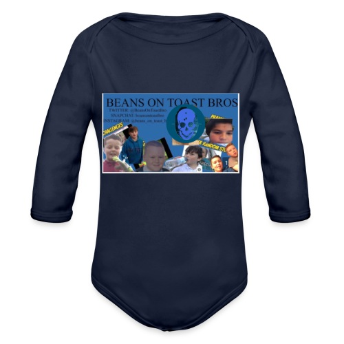 IMG 1260 - Organic Longsleeve Baby Bodysuit