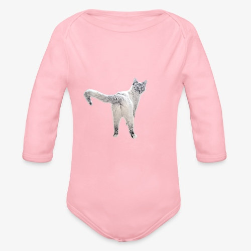 snow1 - Organic Longsleeve Baby Bodysuit
