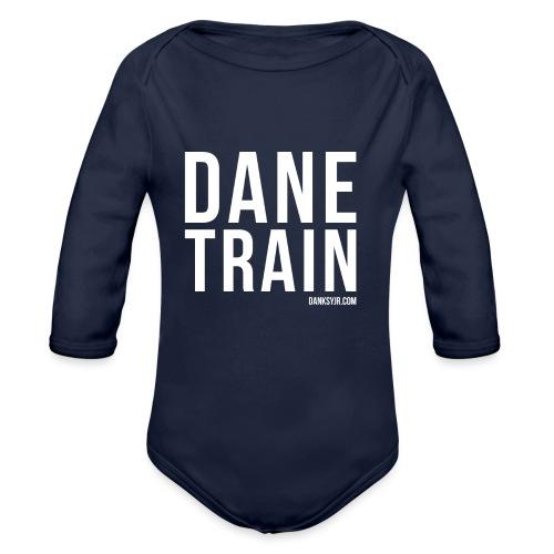 THE DANE TRAIN - Baby Bio-Langarm-Body