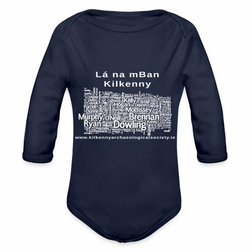 Lá na mban Kilkenny white - Organic Longsleeve Baby Bodysuit