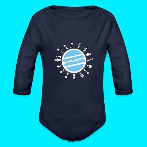 BancoFamily stick - Body ecologico per neonato a manica lunga