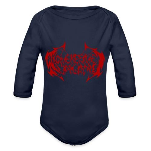ARV Logo rosso - Body ecologico per neonato a manica lunga