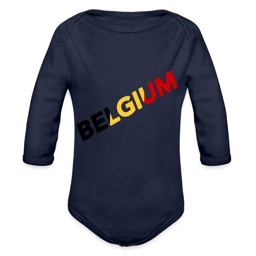 BELGIUM - Body Bébé bio manches longues