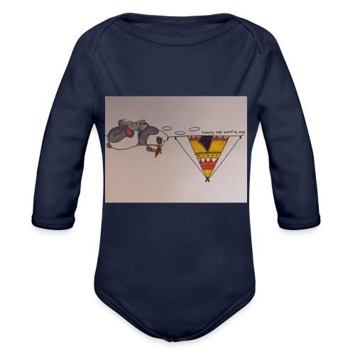 Animaux rigolos pour des accessoires bébé bio - Body bébé bio manches longues