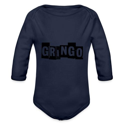 Cartel Gangster pablo gringo mexico tshirt - Organic Longsleeve Baby Bodysuit