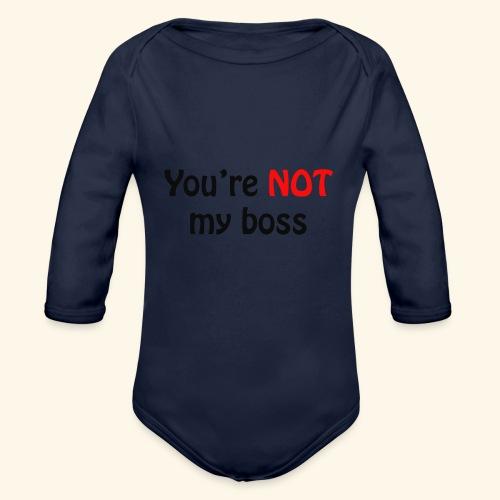 boss - Baby Bio-Langarm-Body
