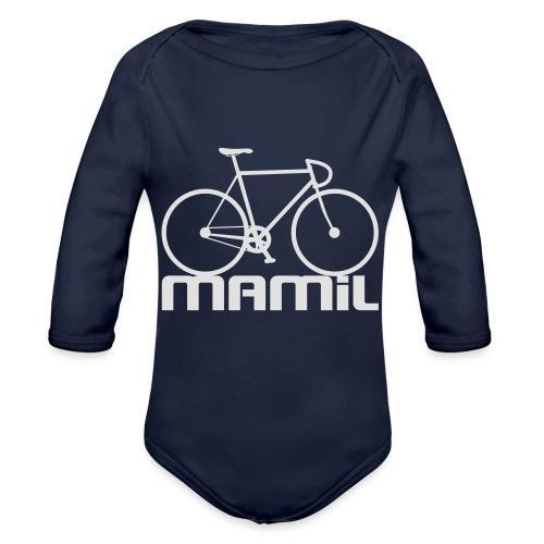 MAMiL Water bottle - Organic Longsleeve Baby Bodysuit