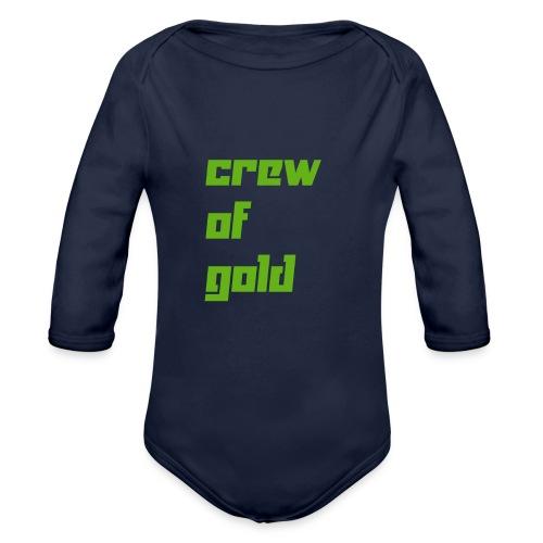 crew - Body ecologico per neonato a manica lunga