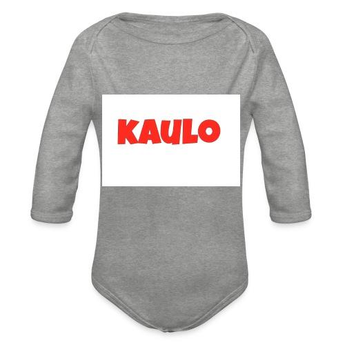 kaulo - Baby bio-rompertje met lange mouwen