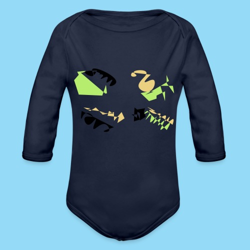 Abstracts & Colours - Organic Longsleeve Baby Bodysuit