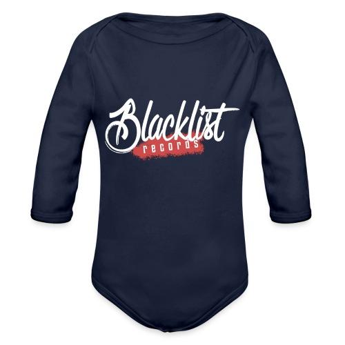 Blacklist Records - Casquette (Logo Blanc) - Body Bébé bio manches longues