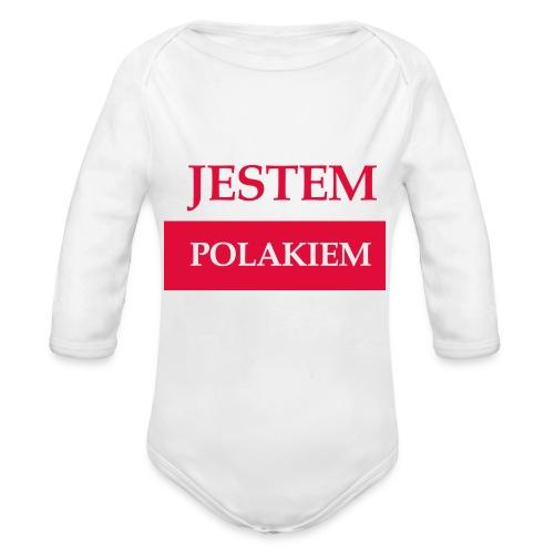 Jestem Polakiem - Ekologiczne body niemowlęce z długim rękawem