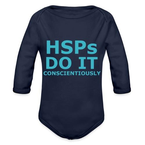 Do It hsPs women's t-shirt - Organic Longsleeve Baby Bodysuit