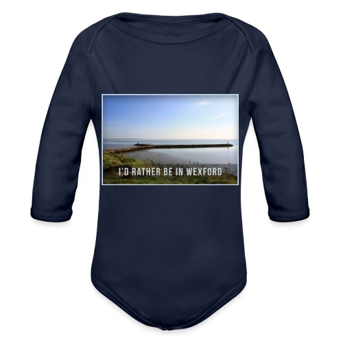 Rather be in Wexford - Organic Longsleeve Baby Bodysuit