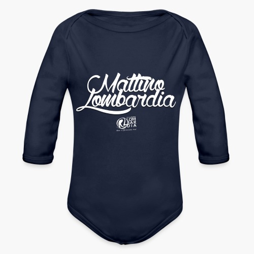 Uomo - Maglietta - Mattino Lombardia - Body ecologico per neonato a manica lunga
