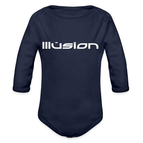 illusion ~ Name - Baby bio-rompertje met lange mouwen