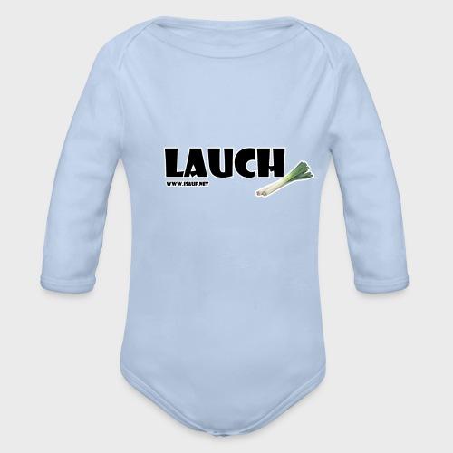 Lauch - Baby Bio-Langarm-Body