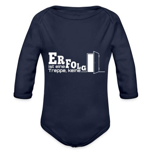 ERFOLGSTREPPE - Baby Bio-Langarm-Body
