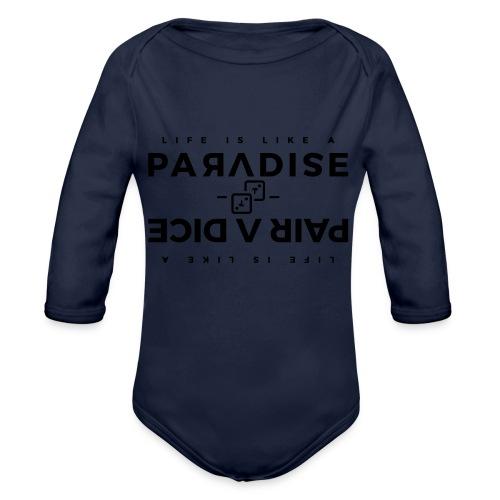 PARADICE 2 - Baby bio-rompertje met lange mouwen