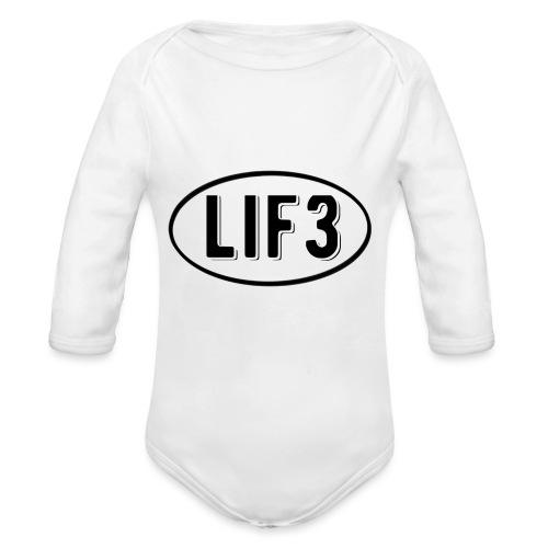 Lif3 gear - Organic Longsleeve Baby Bodysuit