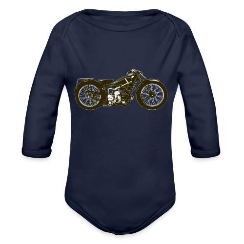 Classic Cafe Racer - Organic Longsleeve Baby Bodysuit