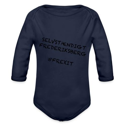 Selvstændigt Frederiksberg #FREXIT - Langærmet babybody, økologisk bomuld