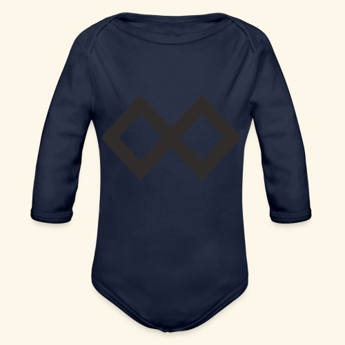 TenX Logo - Baby Bio-Langarm-Body