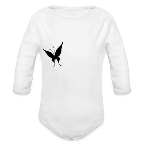 Schmetterling - Baby Bio-Langarm-Body