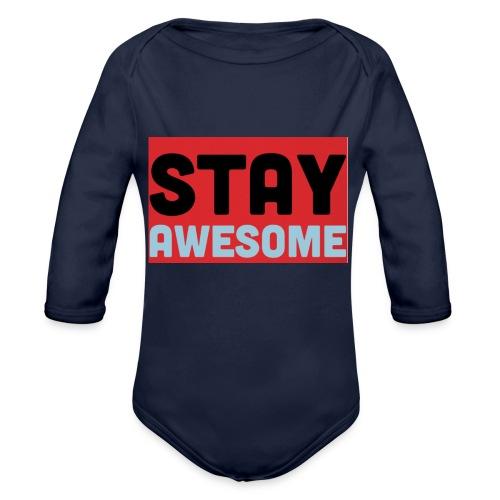 425AEEFD 7DFC 4027 B818 49FD9A7CE93D - Organic Longsleeve Baby Bodysuit