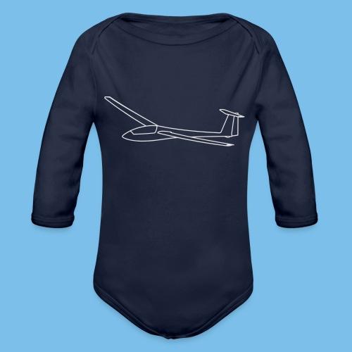 Segelflugzeug Geschenk Segelflieger - Baby Bio-Langarm-Body