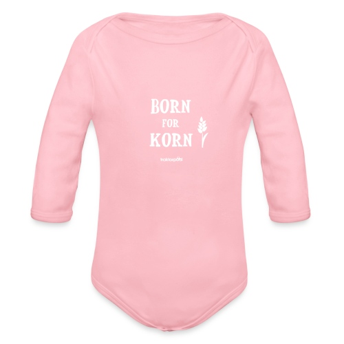 Born for Korn - Baby Bio-Langarm-Body