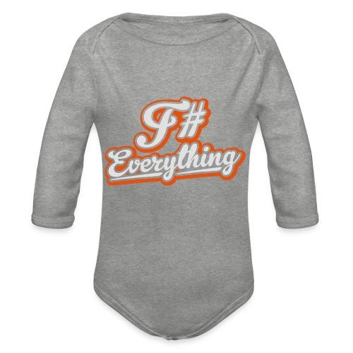F# Everything - Organic Longsleeve Baby Bodysuit