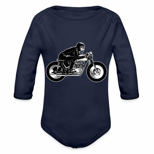 Cafe Racer 2c - Organic Longsleeve Baby Bodysuit