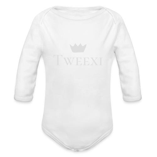 Tweexi logo - Ekologisk långärmad babybody