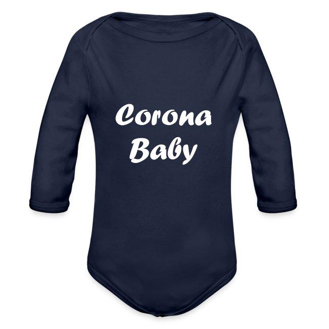 Corona baby merchandise white