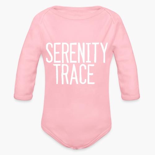 Serenity Trace LOGO W - Økologisk langermet baby-body