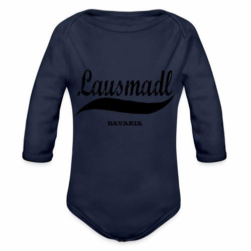 LAUSMADL BAVARIA - Baby Bio-Langarm-Body