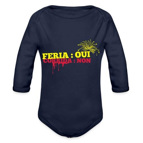 feria - Body Bébé bio manches longues