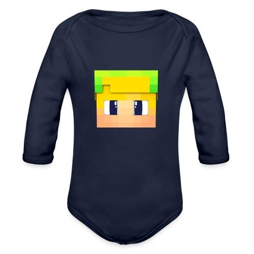 Yoshi Games Shirt - Baby bio-rompertje met lange mouwen