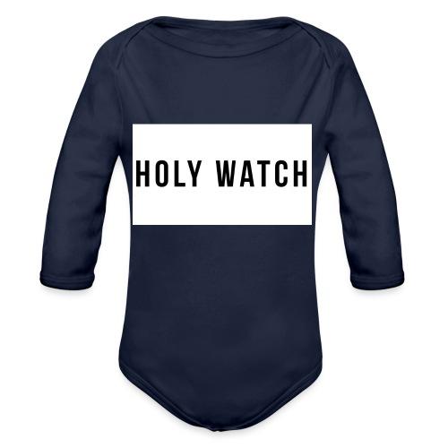 Holywatch T-Shirt - Baby bio-rompertje met lange mouwen