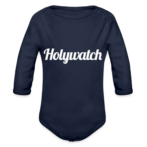 Holywatch Hoodie - Baby bio-rompertje met lange mouwen