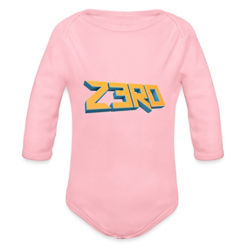 The Z3R0 Shirt - Organic Longsleeve Baby Bodysuit