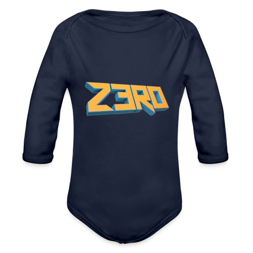 The Z3R0 Shirt - Organic Longsleeve Baby Bodysuit