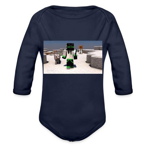 t-shirt - Ekologisk långärmad babybody
