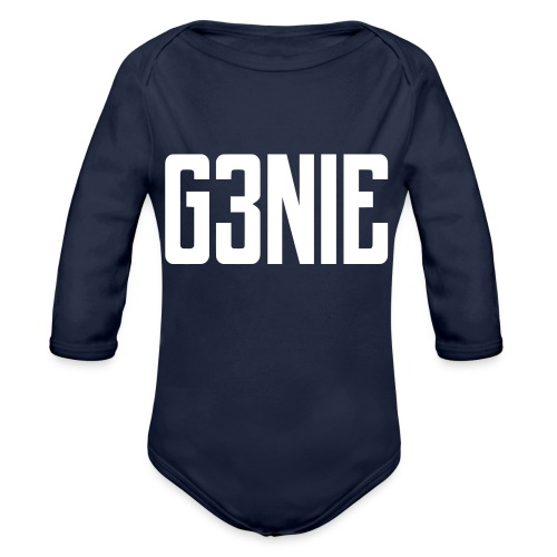 G3NIE bear - Baby bio-rompertje met lange mouwen